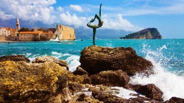 Будва пляж Черногории