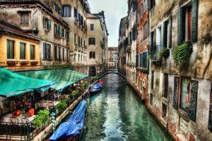 Венеция канал Италия