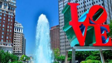парк любви филадельфия