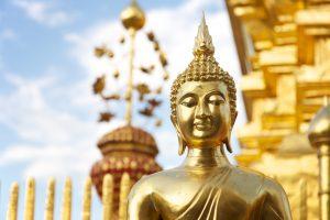 Golden Buddha statue, Thailand