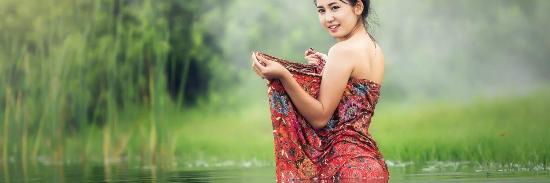 asian-model-in-water
