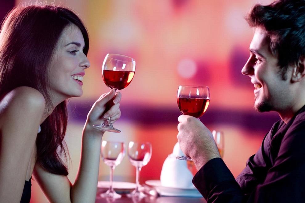 День Святого Валентинав ужин