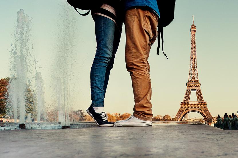 День Святого Валентинав в париже