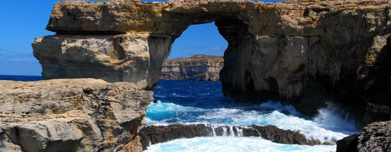 Gozo.-Malta-Lazurnoe okno
