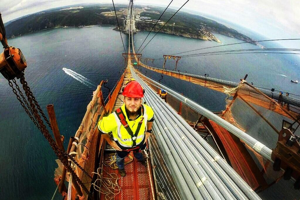 Bridges over the Bosphorus, Turkey