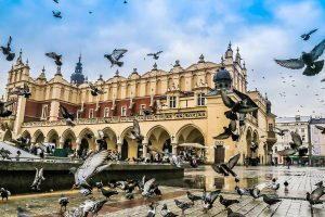 Market Square Kraków, Poland