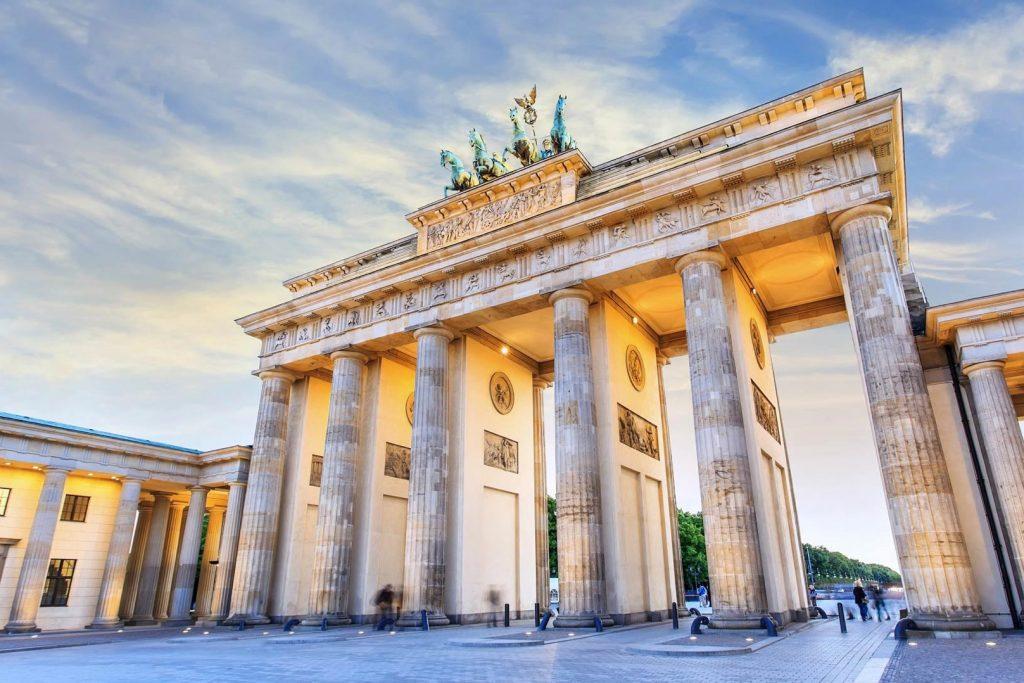 The Brandenburg Gate, Germany