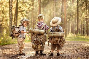 kids as travel