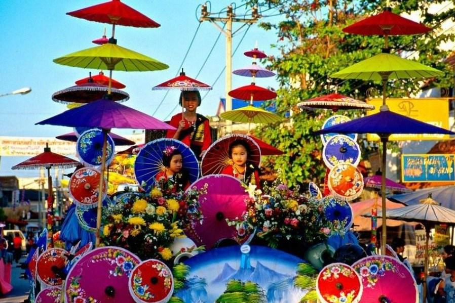 Bo-Sang-Umberella-village-Places-to-visit-in-Thailand