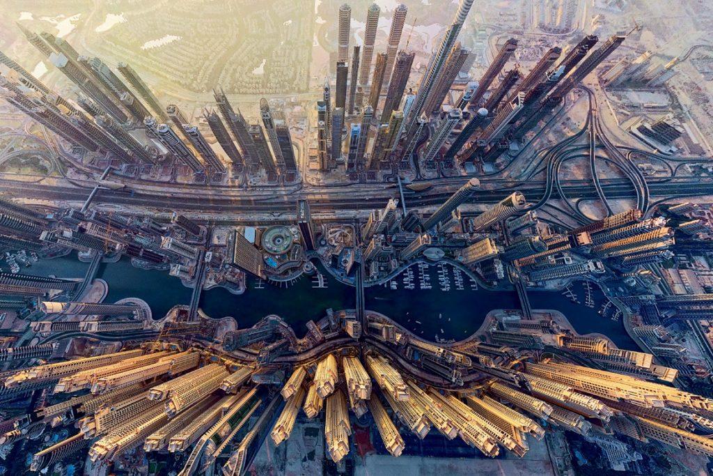 Dubai-Marina-vid-sverhu